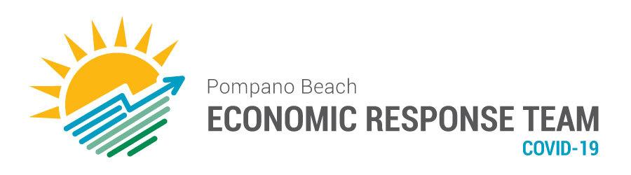 Pompano Beach Economic Response Team Logo