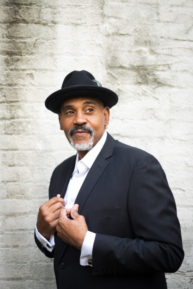 """Allan Harris """"the Jazz Vocal King of New York"""" hosted by Tamara G of WLYF 101.5"""