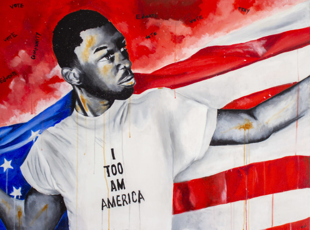 I Too Am America -- Michael Hugue