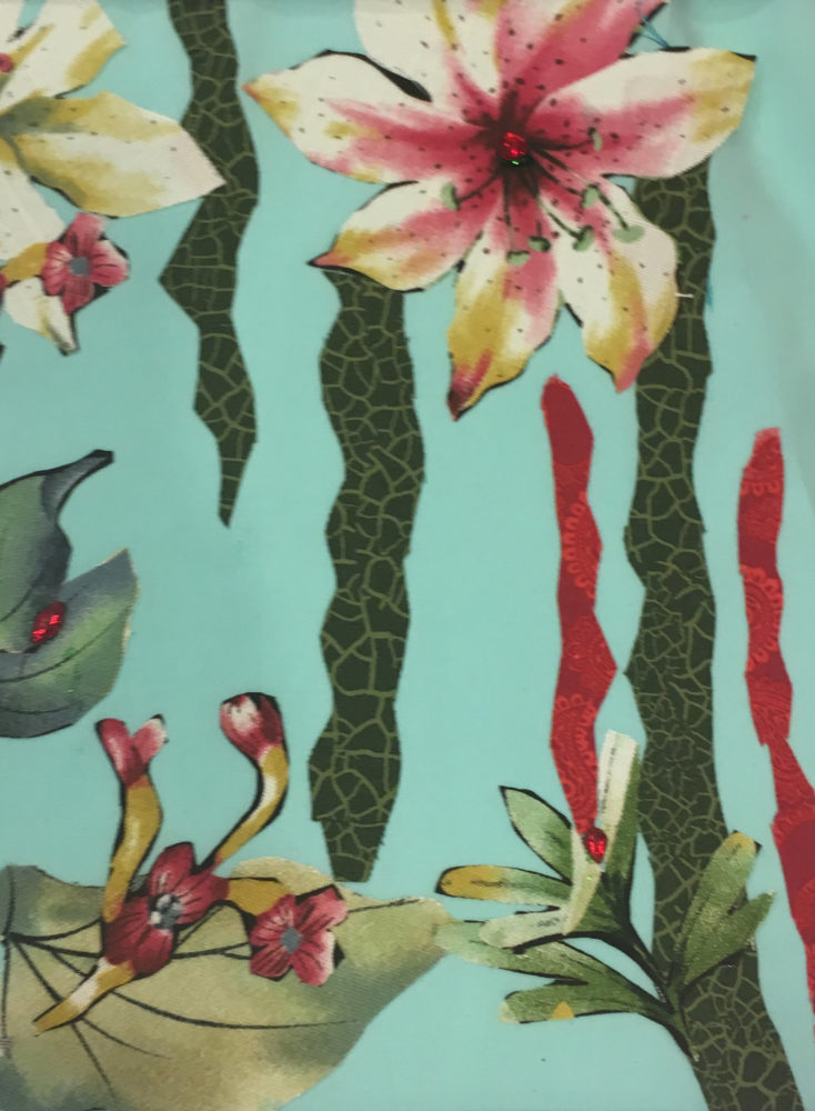 Fabric Fusion Collage Workshop