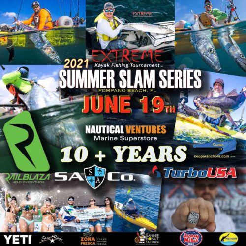 2021 Extreme Kayak Fishing Tournament - Summer Slam Series