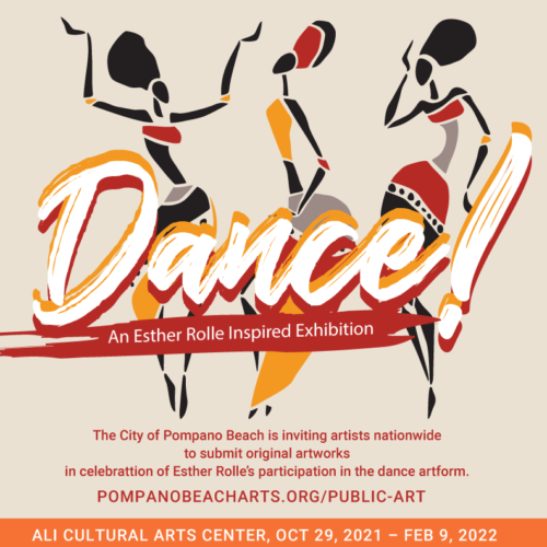 """Call to Artists – """"Dance: An Esther Rolle Inspired Exhibition"""" Image"""