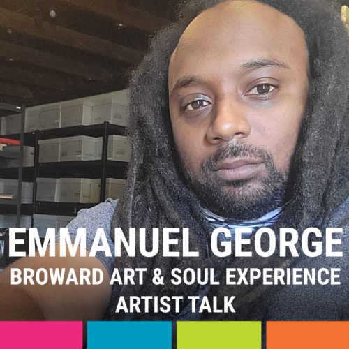 Artist Talk with Emmanuel George