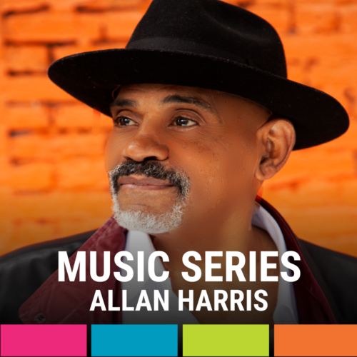 "Allan Harris ""the Jazz Vocal King of New York"" hosted by Tamara G of WLYF 101.5"