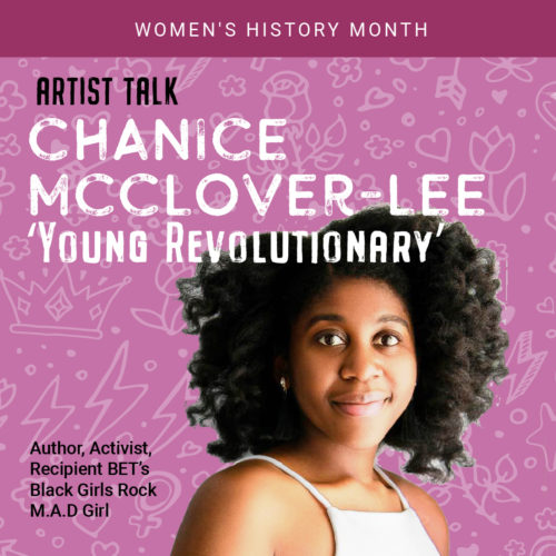 Artist Talk with Chanice McClover-Lee – Young Revolutionary