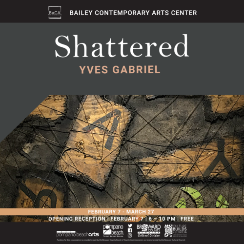 Shattered Artist Talk with Yves Gabriel