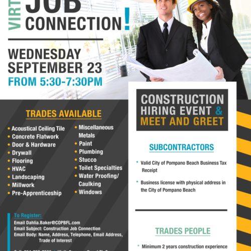 Virtual Construction Job Connection