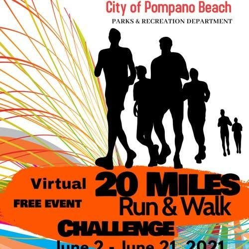 Virtual 20 Miles Run/Walk Challenge