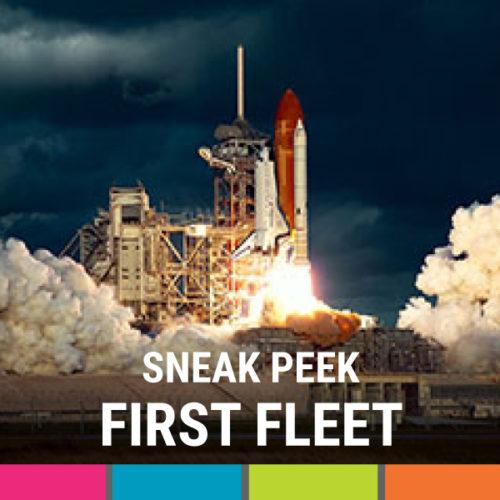 Sneak Peek - First Fleet Exhibition