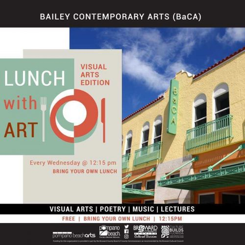 Lunch with Art: Visual Arts Edition