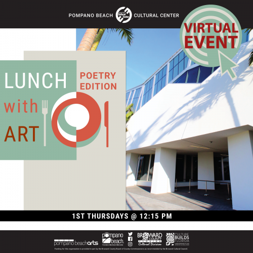 Virtual Lunch with Art – Poetry Edition
