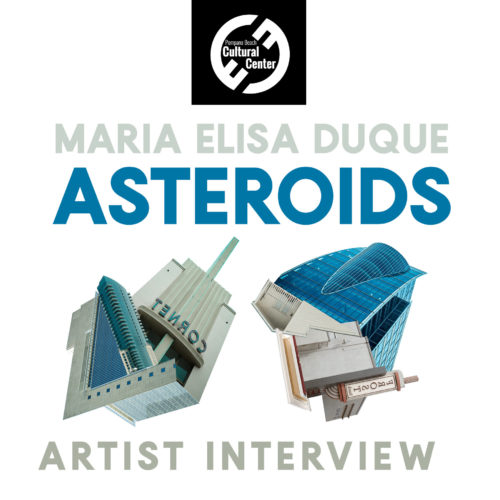 Artist Talk with Maria Duque, Asteroids