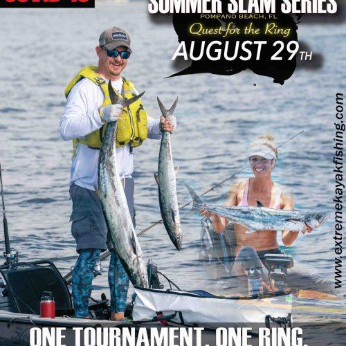 Extreme Kayak Fishing Tournament Summer Slam Series