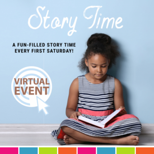 Virtual Story Time at the Blanche Ely House Museum - August 2021