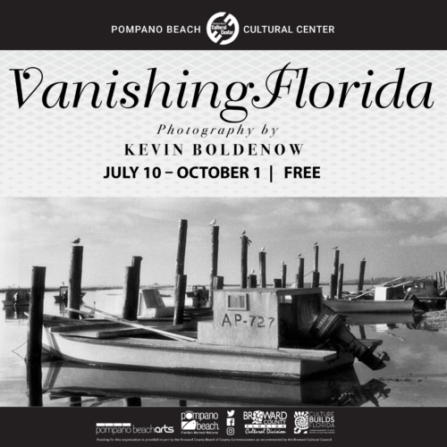 Vanishing Florida Exhibition - Sneak Peek