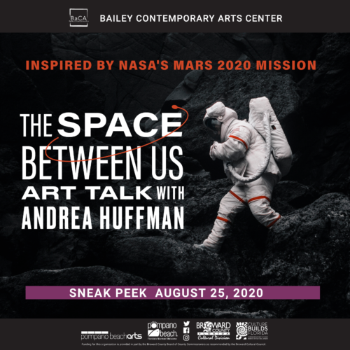Artist Talk with Andrea Huffman- The Space Between Us