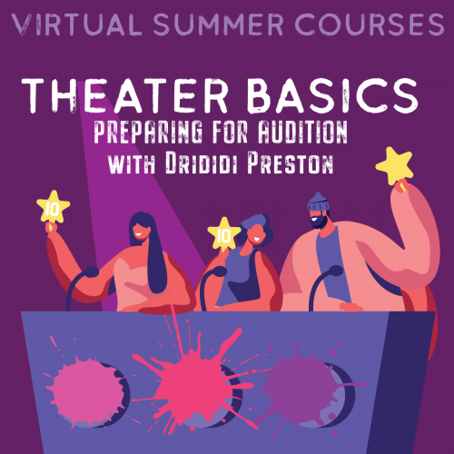 Theater Basics - Preparing for the Audition Online Workshop
