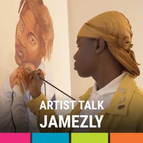 Artist Talk with Jamezly