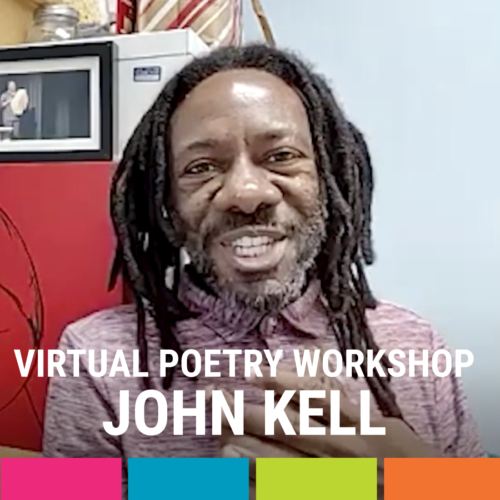 Virtual Poetry Workshop with Jon Kel