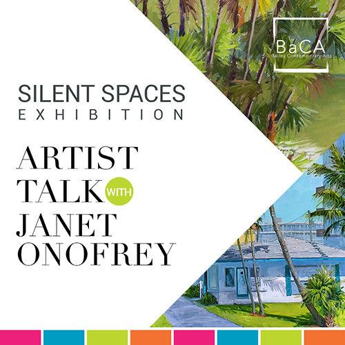 Artist Talk with Janet Onofrey