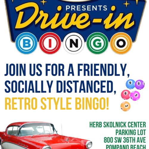 Retro Drive in Movie and Bingo Night