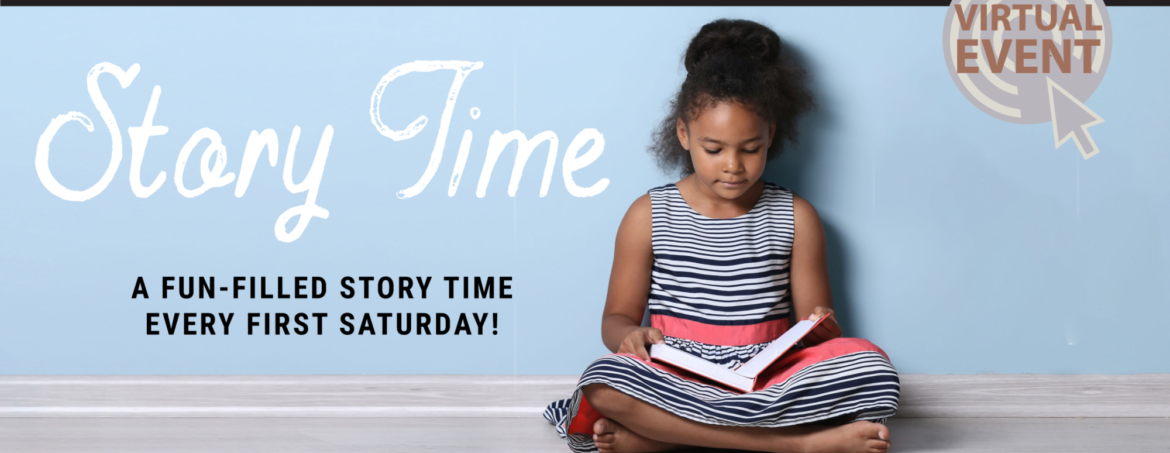 Virtual Story Time at Blanche Ely House Museum -March 2021