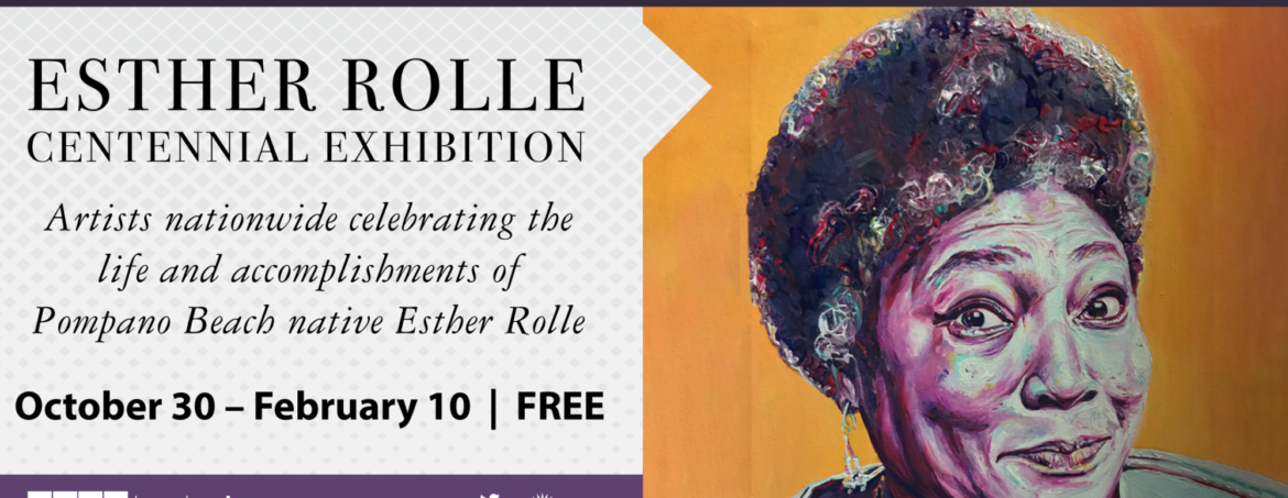 Esther Rolle Centennial Exhibition
