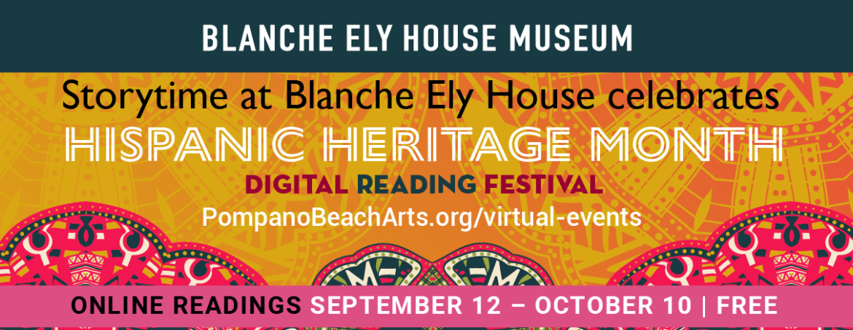 Hispanic Heritage Month Digital Reading Festival 10/3