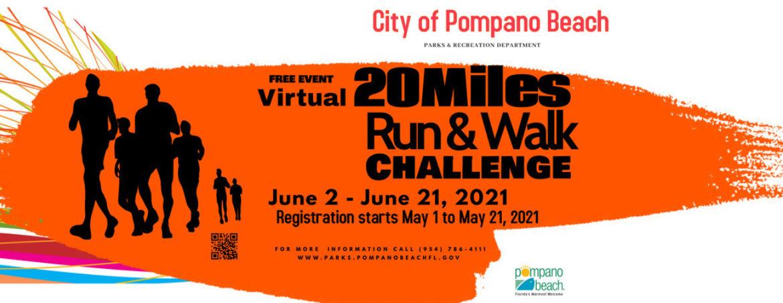 Virtual 20 Miles Run/Walk Challenge