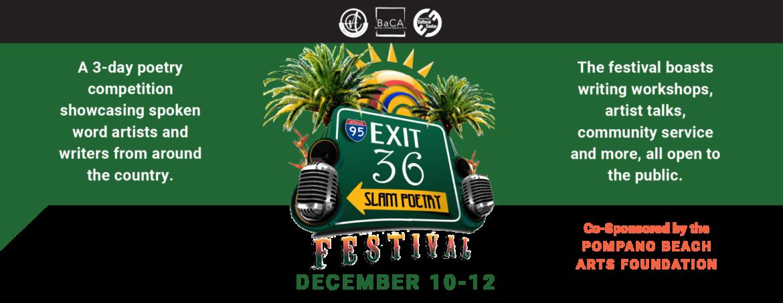 Exit 36 Slam Poetry Festival