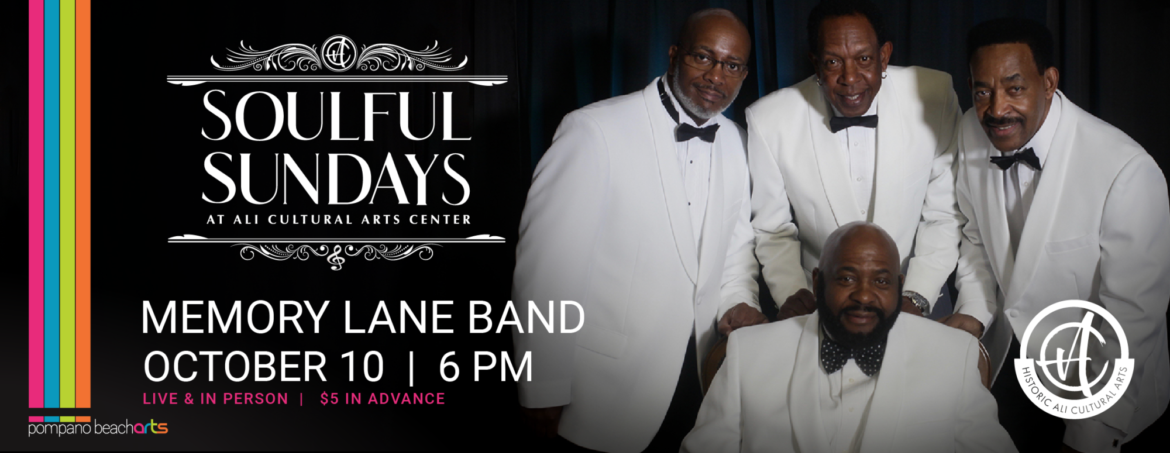 In-Person Soulful Sundays featuring Memory Lane Band