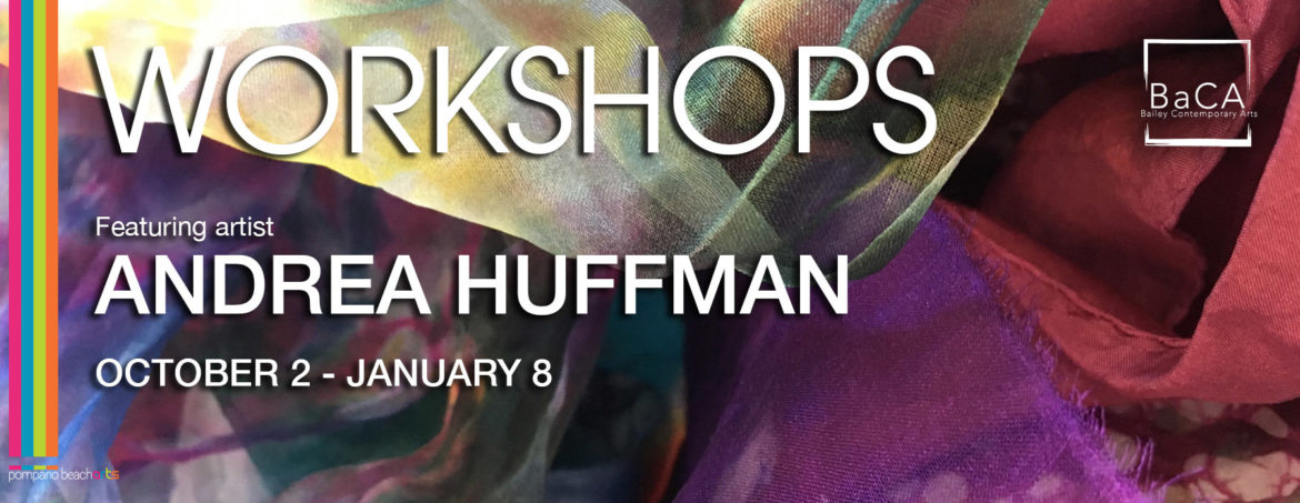 In-Person - Andrea Huffman Fiber Art, Printmaking and Mixed Media Workshops